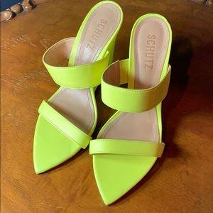 Schutz wedge heels - size 7B